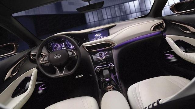 2021 Infiniti QX30 interior