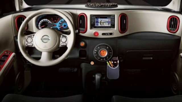 2021 Nissan Cube interior