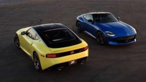 2023 Nissan Z Sports Car colors