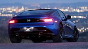 2023 Nissan Z Sports Car specs