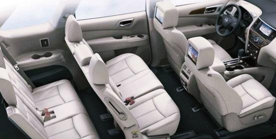 2021 Nissan Pathfinder Hybrid Interior