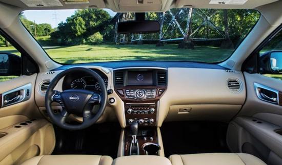 2021 Nissan Pathfinder SV Interior