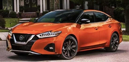 New 2021 Nissan Maxima SR USA Price