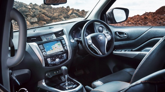 2021 Nissan Navara N-Trek Warrior Interior