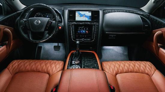 New 2021 Nissan Patrol Interior