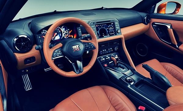 2021 Nissan Skyline Sedan Interior