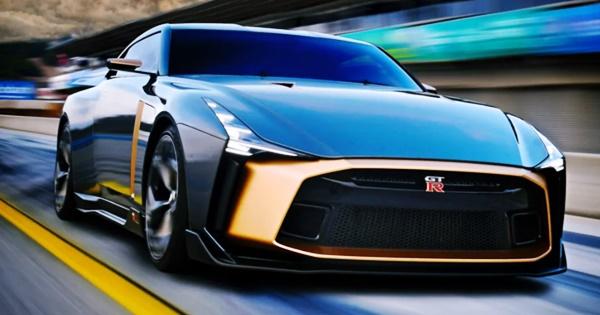 New 2023 Nissan GTR Redesign Hybrid Powertrain