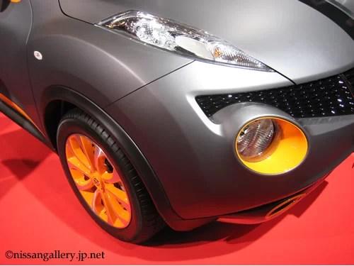ジューク パーソナライゼーションコンセプト 東京オートサロン ボディカラーはマットグレー