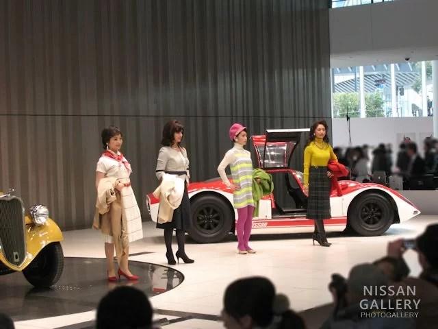 日産80周年のレトロファッションモデル