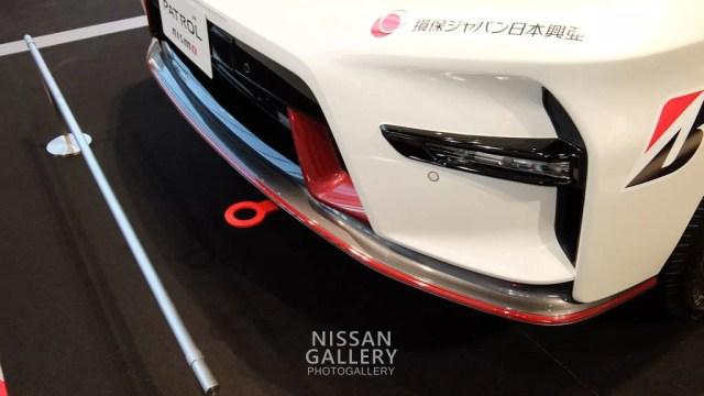 日産 パトロールNISMO(SUPER GTシリーズ FRO車両)牽引フック