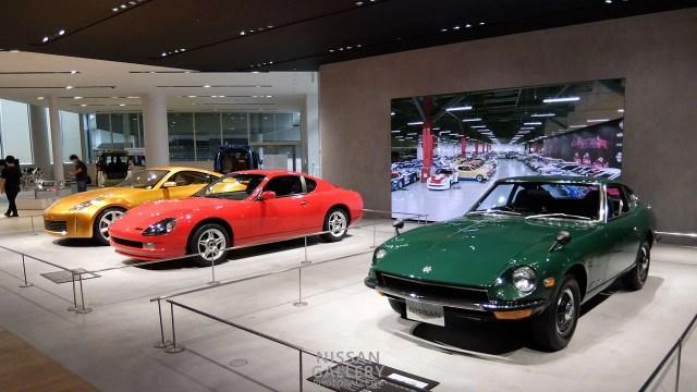 日産グローバル本社ギャラリーの展示イベント「歴代フェアレディZが勢ぞろい!6世代の名車を展示!」