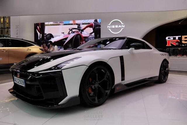 日産 GT-R50 テストカー