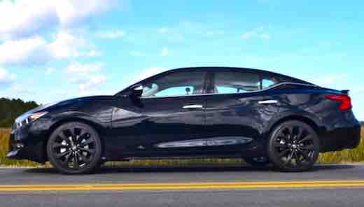 2018 Nissan Maxima SR Midnight Edition, 2018 nissan maxima sr review, 2018 nissan maxima sr for sale, 2018 nissan maxima sr midnight,