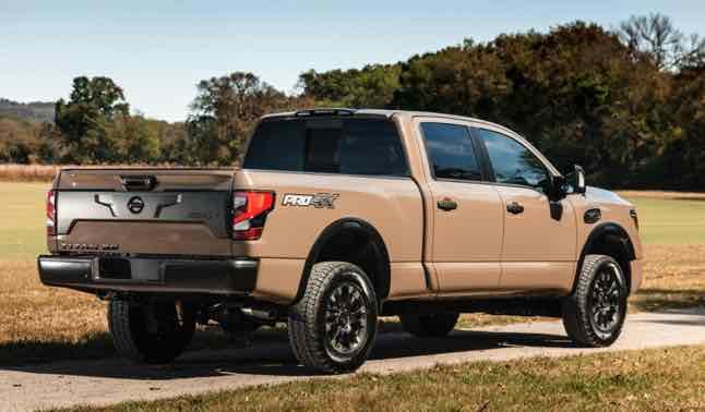 Nissan titan warrior despite an updated powertrain and loads of new tech features