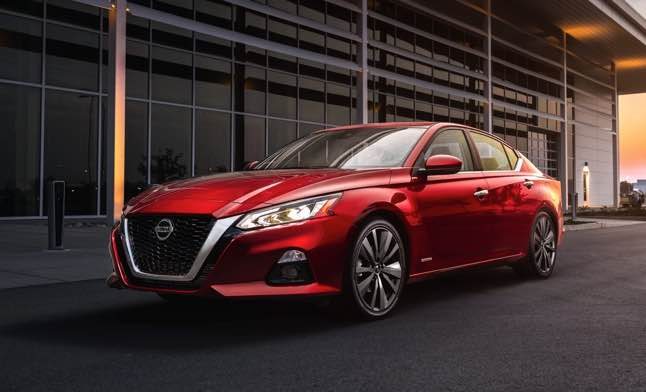 new nissan altima 2022 mid-size sedan is also pleasing to the eye with sharp styling and an upmarket-feeling interior