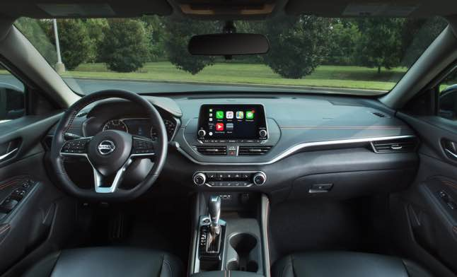 The 2022 altima isn't the most alluring or exciting family sedan, but it's competent and available with some unconventional options