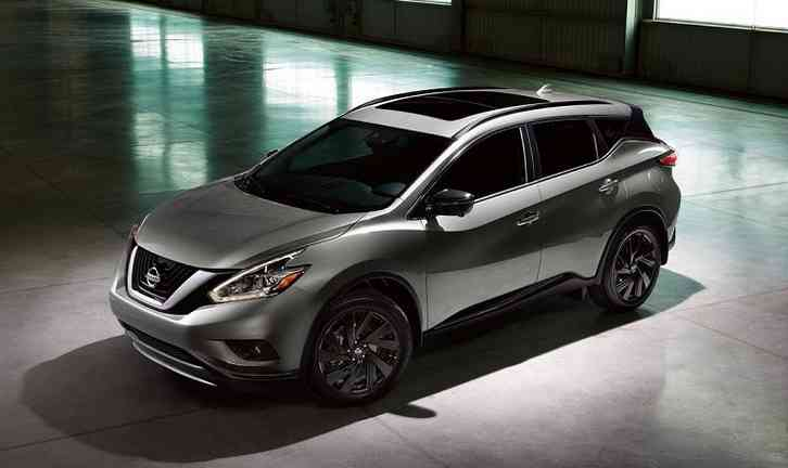 Nissan Murano redesign 2022 5 passenger crossover SUV with Standard Safety