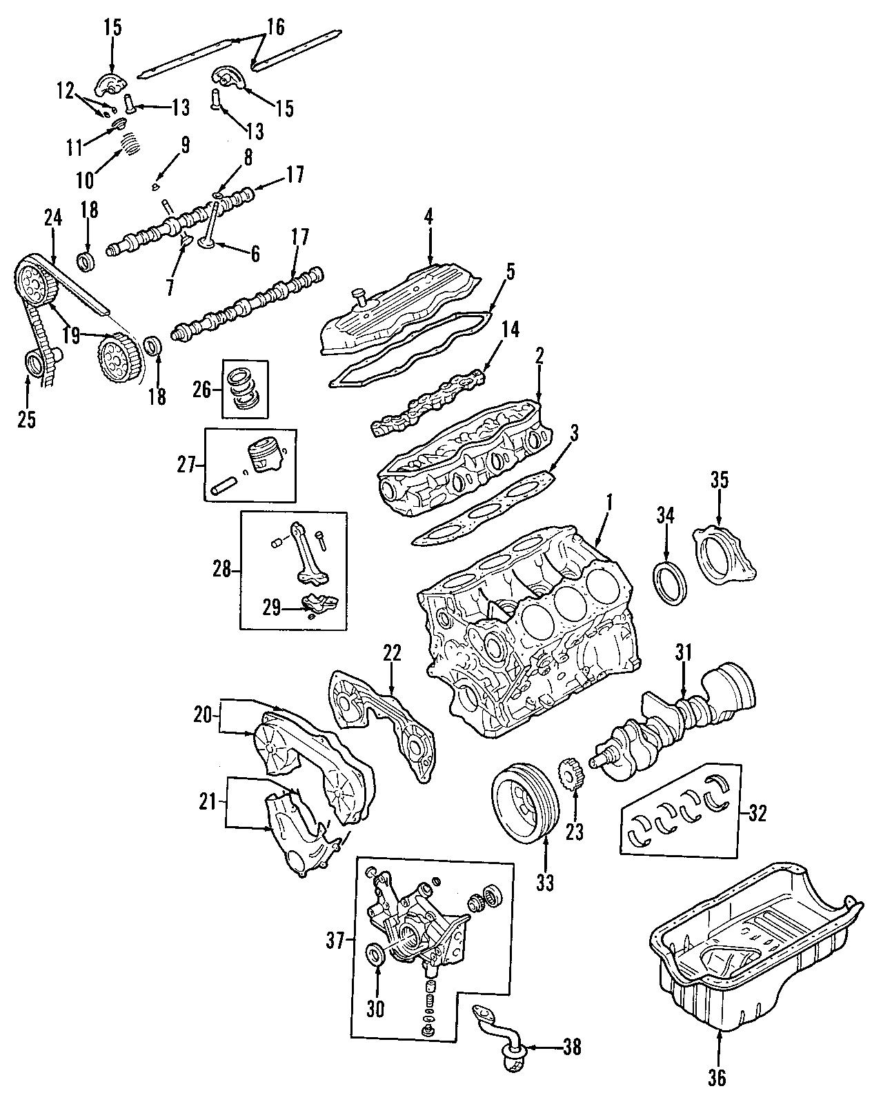 Nissan Frontier Engine