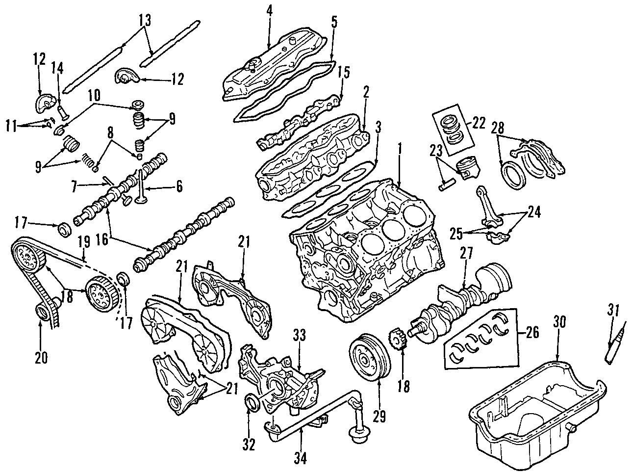 Nissan 720 Seal Crankshaft Oil Cranks Engine Rear