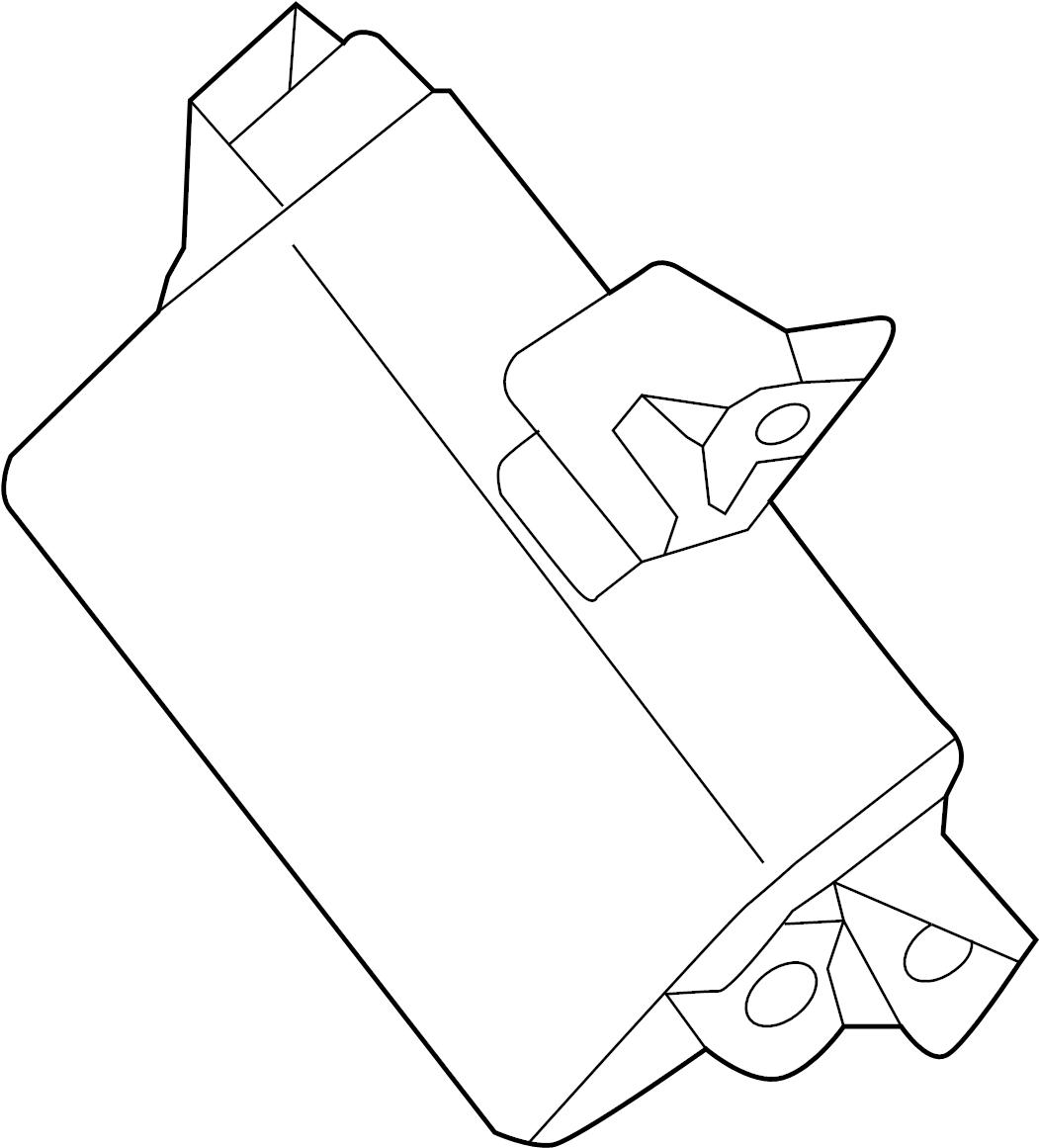 Nissan Maxima Parking Aid Control Module Room Instrument