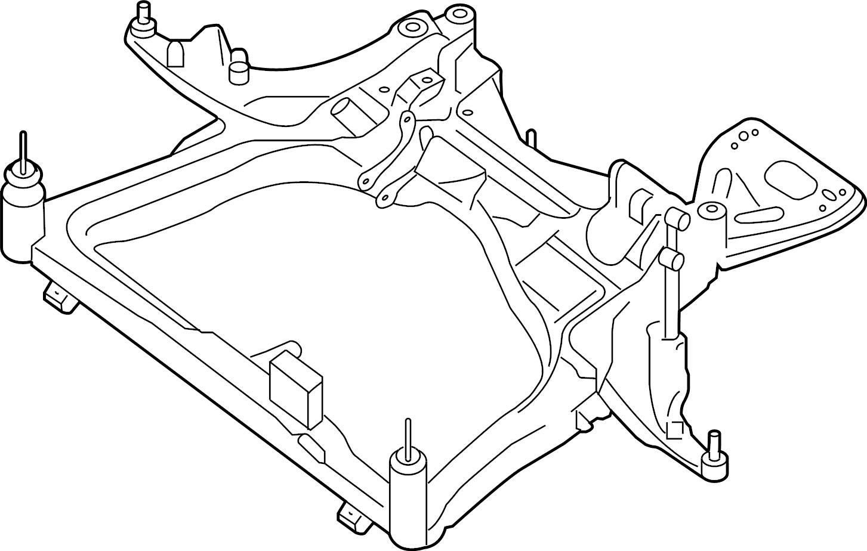 Nissan Altima Engine Cradle Front Suspension Strut