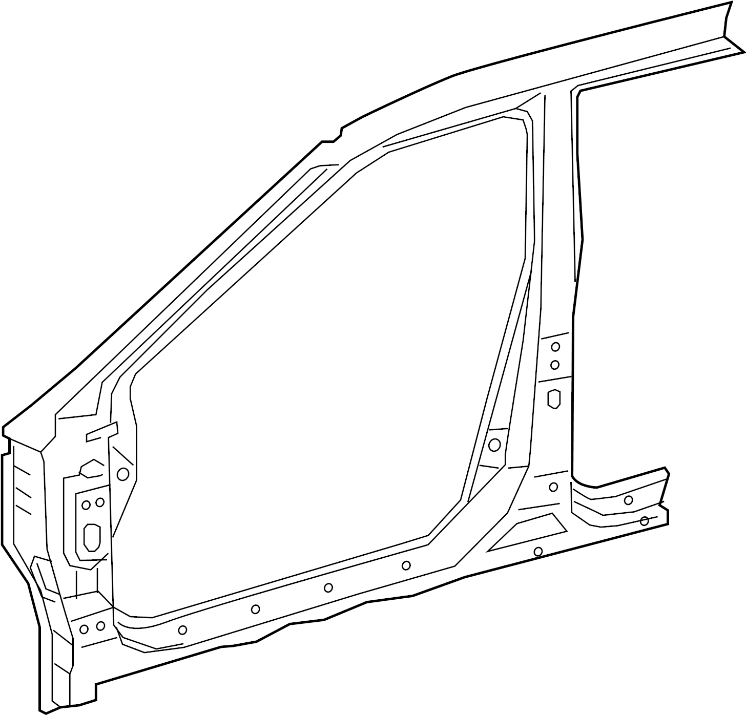 Nissan Maxima Uniside Right Front Body Panel