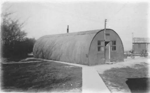 Nissen Hut 708th Squadron
