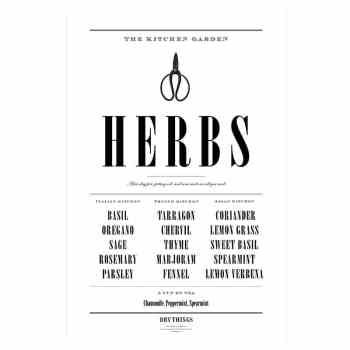 Print - Herbs von DRY Things