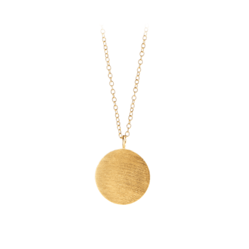 Coin Necklace gold von Pernille Corydon