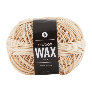 Band - Ribbon wax natur S von monograph