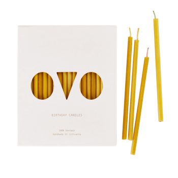 Kerzen Bienenwachs - Birthday Candles von OVO Things