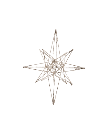 Ornament gross - Star Champagne von House Doctor