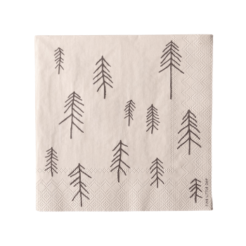Serviette - TALL beige von Fine little Day