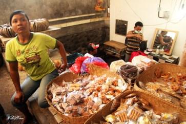 Pasar tradisional Tulamben.