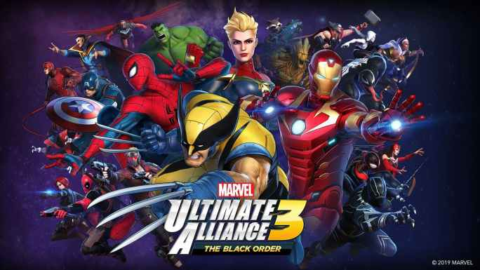 Ultimate Alliance 3 Switch Cover