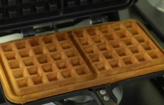 golden waffle