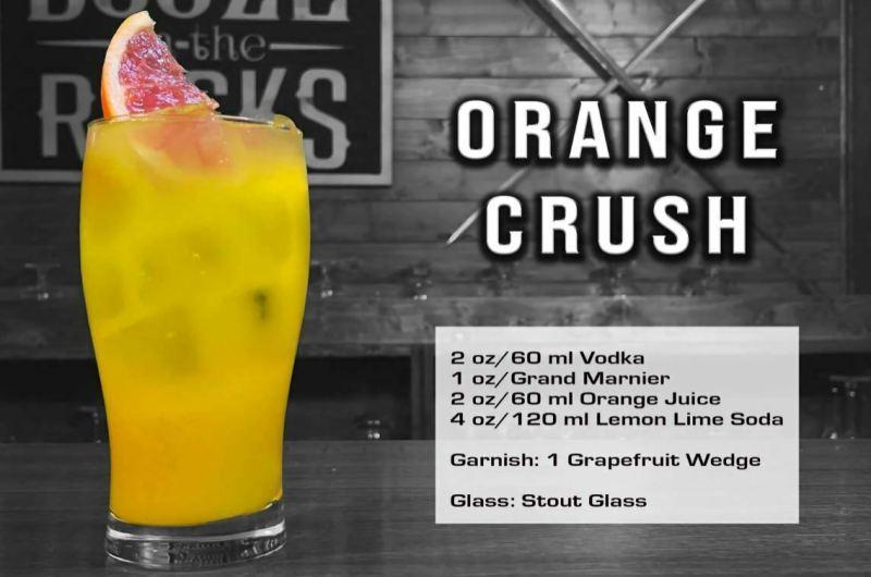 The Orange Crush Cocktail