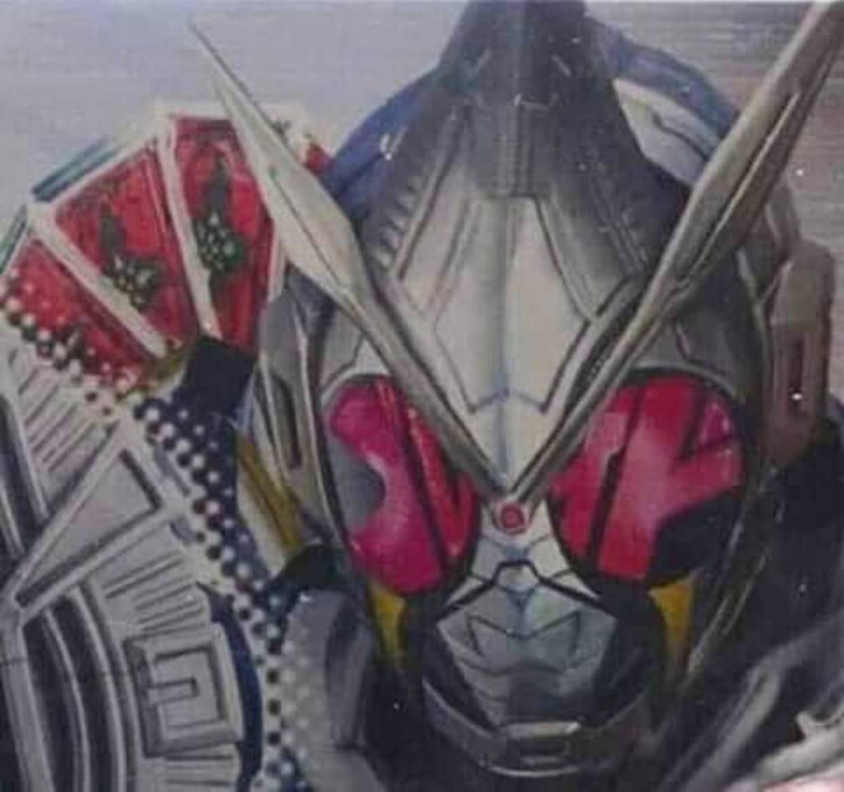 【ネタバレ】ジオウ ブレイドアーマー 頭部画像 肩の造形は展開したブレイラウザーになっている模様