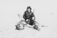 2013-11-21, Petr Kaurgkin (the reindeer-breeder elder). The Lake Macka, Nizhnekolymsky District, the Sakha Republic.