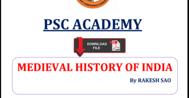 Medieval Indian History Notes PDF in Hindi by Rakesh Rao
