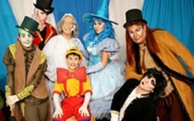 "Musical ""Pinocchio"" no Teatro da AMF"