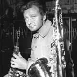 Stan Getz na tela do Cine Jazz no Mac