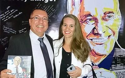 lançamento do livro tributo a Ricardo Boechat