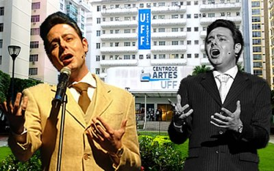 Musical Agnaldo Rayol no Teatro da UFF