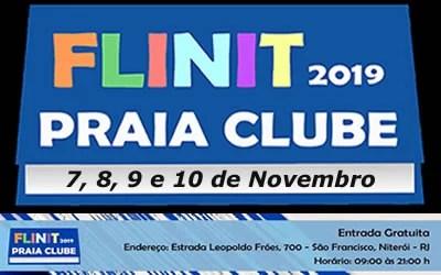 FLINIT maior feira literária de Niterói no PCSF