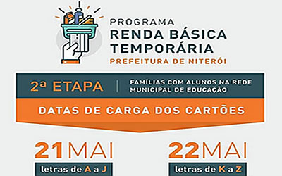 Programa Renda Básica Temporária em Niterói