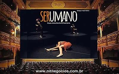Theatro Municipal de Niterói recebe o espetáculo SERUMANO