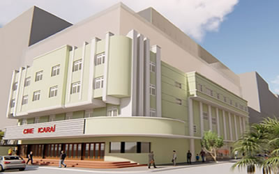 O nosso cinema Icaraí está de volta