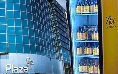 Plaza Niterói sorteia uma geladeira da NOI e um ano de cerveja grátis