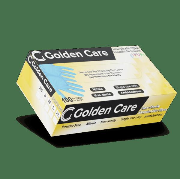 Golden care nitrilhandschuhe